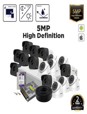 فروش محصولات 5 مگاپیکسل هایک ویژن
