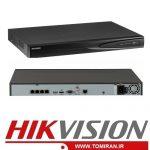 دستگاه NVR هایک ویژن DS-7604NI-E1/4P